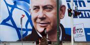 Bild på Bejamin Netanyahu. Oded Balilty / TT NYHETSBYRÅN/ NTB Scanpix