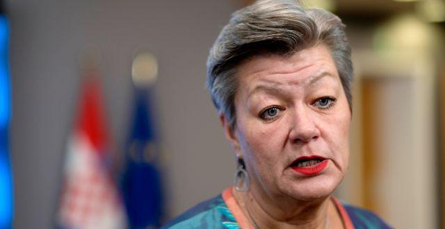 Ylva Johansson. Arkivbild. Thierry Monasse / TT NYHETSBYRÅN