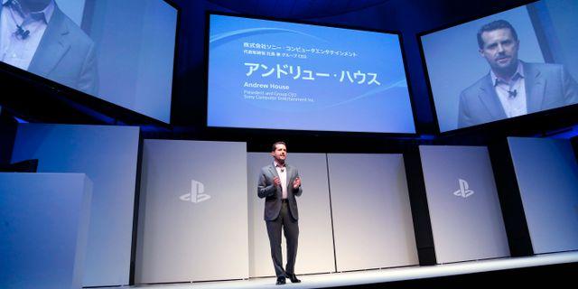 Sony visar upp playstation 4
