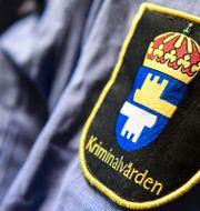 Kriminalvården backar från planerna.  Johan Nilsson/TT