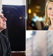 Rikard Wollf/Helena Bergström/Jonas Gardell. TT