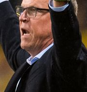 Janne Andersson under matchen mot Norge i september. VEGARD WIVESTAD GRØTT / BILDBYRÅN NORWAY