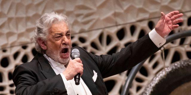 Plácido Domingo.  Christian Charisius / TT NYHETSBYRÅN