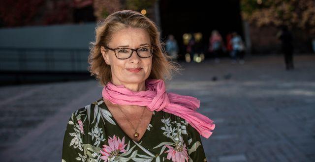 Lotta Edholm.  Malin Hoelstad/SvD/TT / TT NYHETSBYRÅN