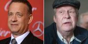 Tom Hanks/Rolf Lassgård. TT