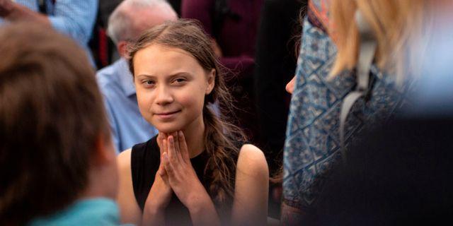 Greta Thunberg ERIC BARADAT / AFP