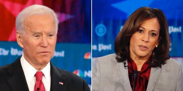 Joe Biden och Kamala Harris  TT