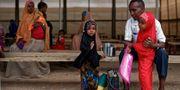 Somaliska flyktingar som får hjälp av FN. Ben Curtis / TT / NTB Scanpix