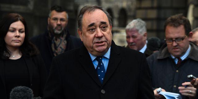 Alex Salmond. ANDY BUCHANAN / AFP
