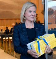 Finansminister Magdalena Andersson. Arkiv. Anders Wiklund/TT / TT NYHETSBYRÅN