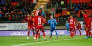 Marcus Danielson nickar in 2–1. Per Danielsson/TT / TT NYHETSBYRÅN