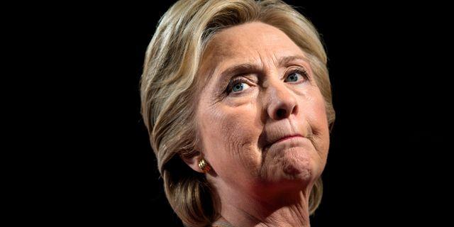 Hillary Clinton, arkivbild. BRENDAN SMIALOWSKI / AFP