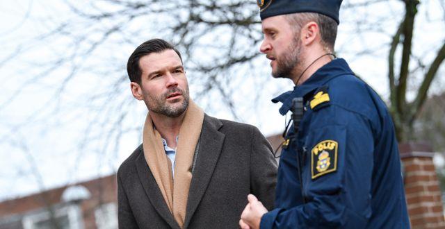 Moderaternas rättspolitiske talesperson Johan Forssell. Johan Nilsson/TT / TT NYHETSBYRÅN