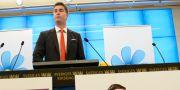 Oscar Sjöstedt, partiets ekonomisk-politiska talesperson MAJA SUSLIN / TT / TT NYHETSBYRÅN