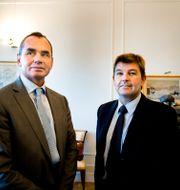Ian Lundin, styrelseordförande och Ashley Heppenstall, koncernchef och vd. Lars Pehrson / SvD / TT / TT NYHETSBYRÅN