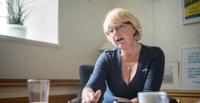 Irene Svenonius (M),  finanslandstingsråd i Stockholms län.  Adam Wrafter/SvD/TT / TT NYHETSBYRÅN