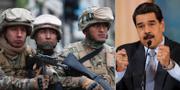 Militär i Bolivia och Nicolás Maduro. TT