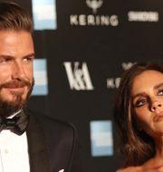 David och Victoria Beckham, mars 2015 Joel Ryan / TT / NTB Scanpix