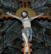 Jesus på korset. Hasse Holmberg