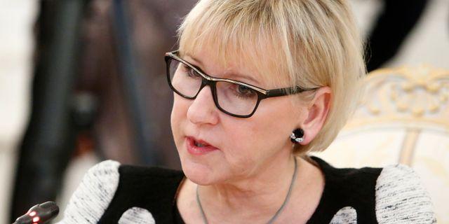 Margot Wallström. SERGEI KARPUKHIN / TT NYHETSBYRÅN