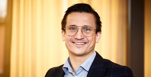 Andreas Wahlén, vd. Pressfoto: NP3 Fastigheter