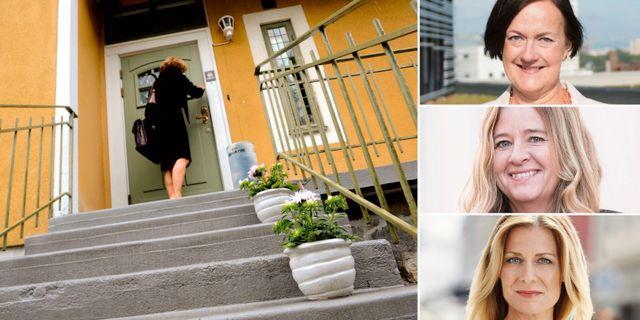 Ingela Gabrielsson, Nordea, Claudia Wörmann, SBAB och Sharon Lavie, Ikano Bank. TT, pressbilder.
