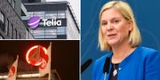 Finansminister Magdalena Andersson. Arkivbilder. TT