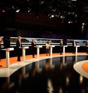 Bild från tidigare Agenda-debatt. Jessica Gow / TT NYHETSBYRÅN