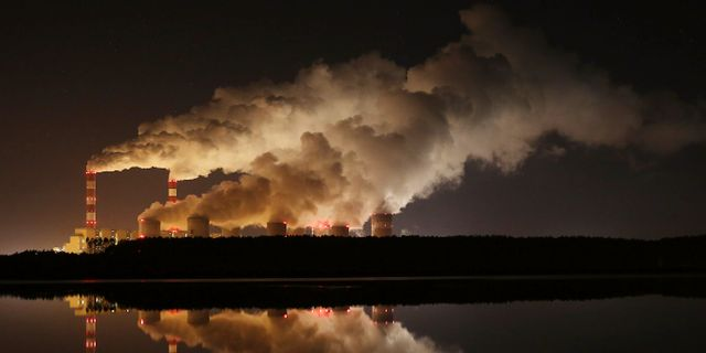 Kolkraftverket i Belchatow, Polen. Czarek Sokolowski / TT NYHETSBYRÅN