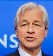 Hedgefondprofilen Bill Ackman och JP Morgans vd Jamie Dimon Pawel Dwulit/AP/TT och Frank Franklin II/AP/TT