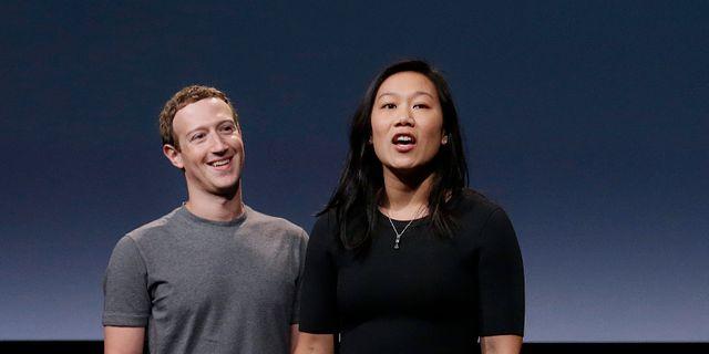 Mark Zuckerberg och Priscilla Chan Jeff Chiu / TT / NTB Scanpix