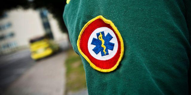Ambulanssjukvårdare, arkivbild. Yvonne Åsell / SvD / TT / TT NYHETSBYRÅN