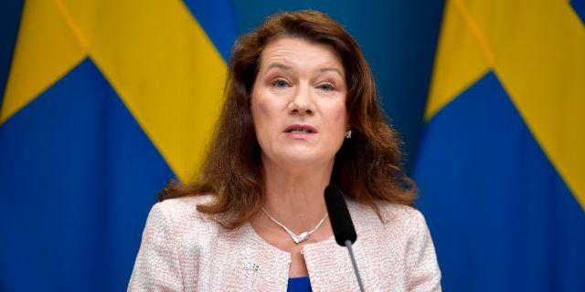 Utrikesminister Ann Linde (S). Anders Wiklund/TT / TT NYHETSBYRÅN