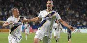 Zlatan i LA Galaxy-tröjan KIRBY LEE / ACTION IMAGES