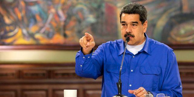 Venezuelas president Nicolas Maduro.  HO / Venezuelan Presidency