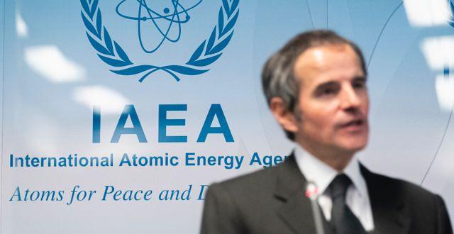 IAEA-chefen Rafael Mariano Grossi. Florian Schroetter / TT NYHETSBYRÅN