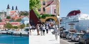 Akrivbilder från Gotland.  TT