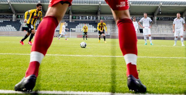 Illustrationsbild från klubbens träningsmatch mot utsikten, mars 2020 Adam Ihse/TT / TT NYHETSBYRÅN