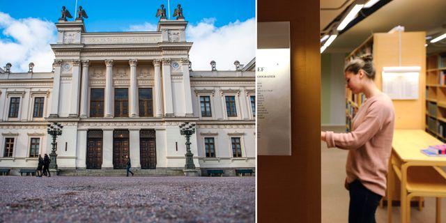Lunds universitet/kvinnlig student.  TT