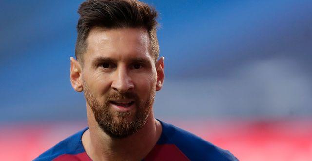 Leo Messi. Manu Fernandez / TT NYHETSBYRÅN