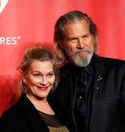 Jeff Bridges och hustrun Susan Geston, 2015. MARIO ANZUONI / TT NYHETSBYRÅN