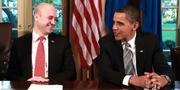 Gunnar Seijbold träffade Barack Obama när han dokumenterade dåvarande statsminister Fredrik Reinfeldts resa till USA. Gunnar Seijbold/Regeringskansliet