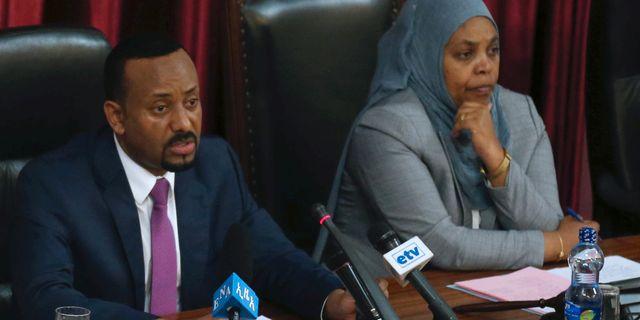 Etiopisk partiledare fri