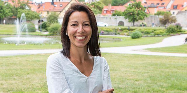 Juliana Perez Falke arbetar som nationell kund- och affärschef på Almi.  MALIN VINBLAD