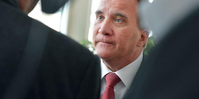 Statsminister Stefan Löfven (S). Jessica Gow/TT / TT NYHETSBYRÅN