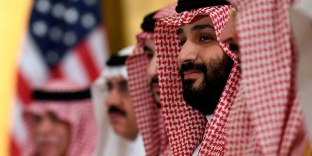 Saudiarabiens Mohammed bin Salman.  Susan Walsh / TT NYHETSBYRÅN