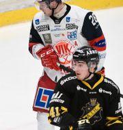 Arkivbild från match mellan Västervik och AIK.  Ali Lorestani/TT / TT NYHETSBYRÅN