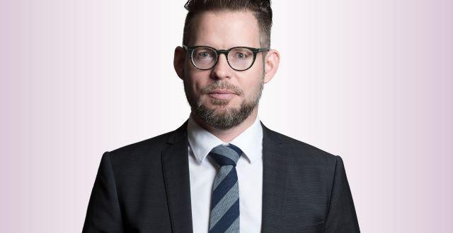 Hans Andersson, affärsjurist och vd för Advokatbyrån Kaiding. Foto: Pressbild