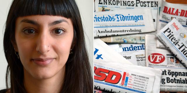 Endast 32,1 procent av de som uttalar sig i svenska nyhetsmedier är kvinnor