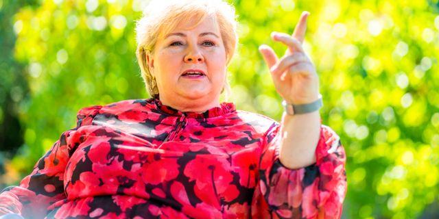 Erna Solberg. Håkon Mosvold Larsen / TT NYHETSBYRÅN